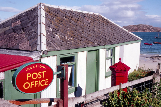 Post Office, Isle of Iona, Scotland