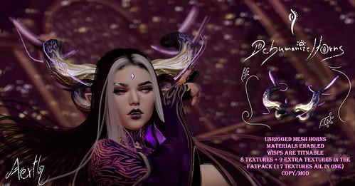 @Fantasy Faire [AERTH] Dehumanize Horns