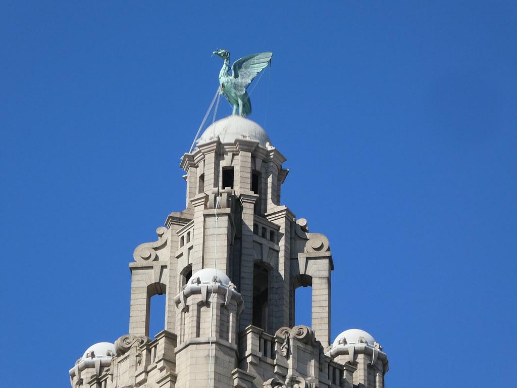 The Liver Birds, Pier head, Liverpool