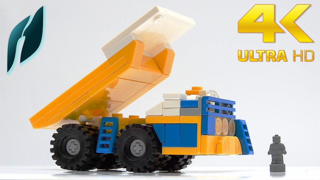 Lego Haul Truck BelAZ 75710 (MOC - 4K)