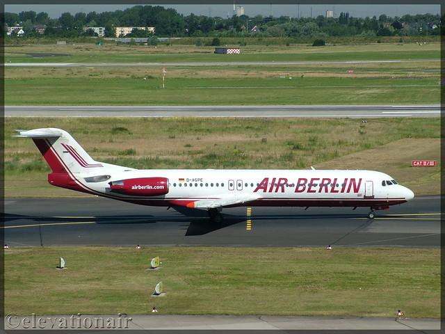 D-AGPE   Fokker FK100   Air Berlin