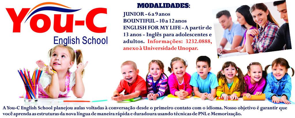 Aprenda inglês com o You-C, junto à Unopar em São Gabriel!