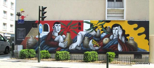 ORLEANS (le mur par Guillaume Garrié)