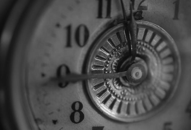 Die Zeit läuft ab