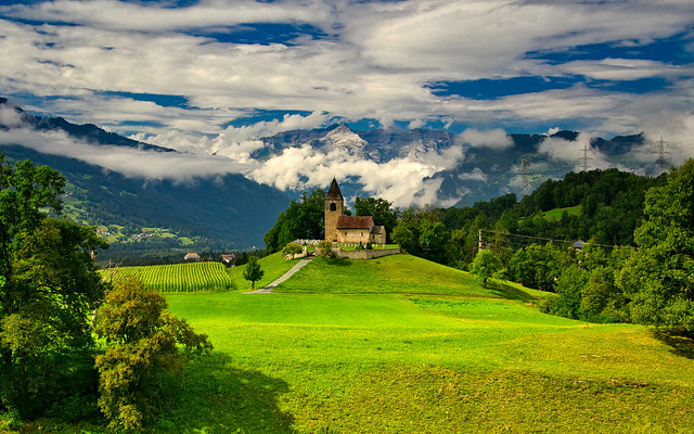 St. Cassian, Sils i. D., Graubünden, Switzerland