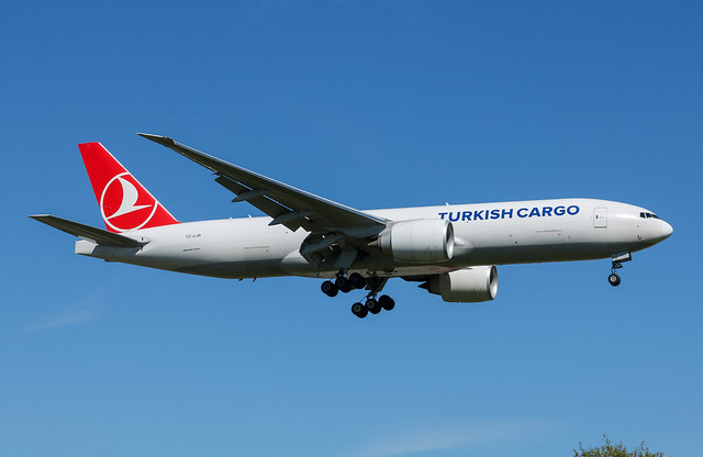 TC-LJR Boeing 777-F Turkish Airlines Cargo