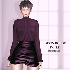 POISON ROUGE It Girl Outfit @COSMOPOLITAN
