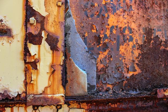 Rust - Texture - Peeling Paint