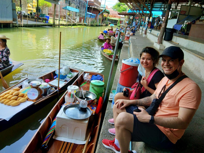 leftbanked despacito floating market