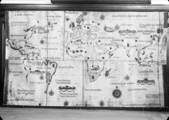 Mapa mundi. Portugal