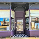 Photography exhibition at the Larder cafe in Preston