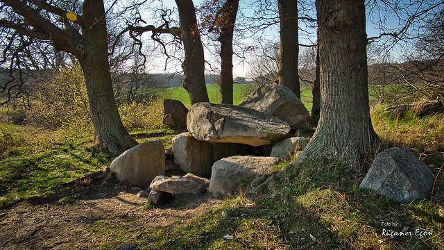 Großsteingrab - Lanken-Granitz (Insel Rügen)