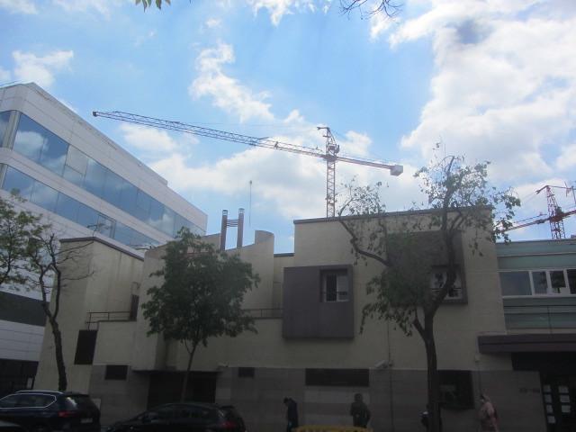 Government Office  for  Asylum  and Refuge,  Calle  Pradillo, Prosperidad,    my neighbourhood,  Madrid