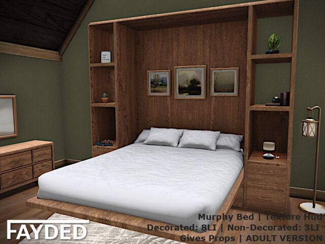 FAYDED - Murphy Bed