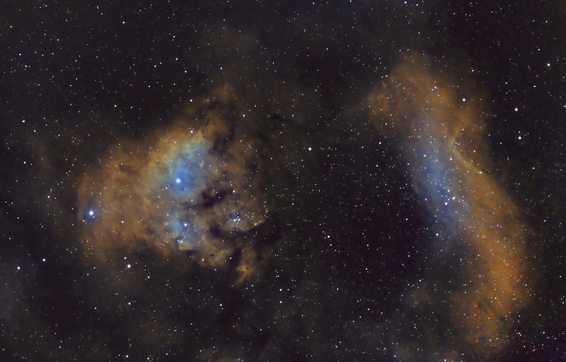 NGC7822 and CED214