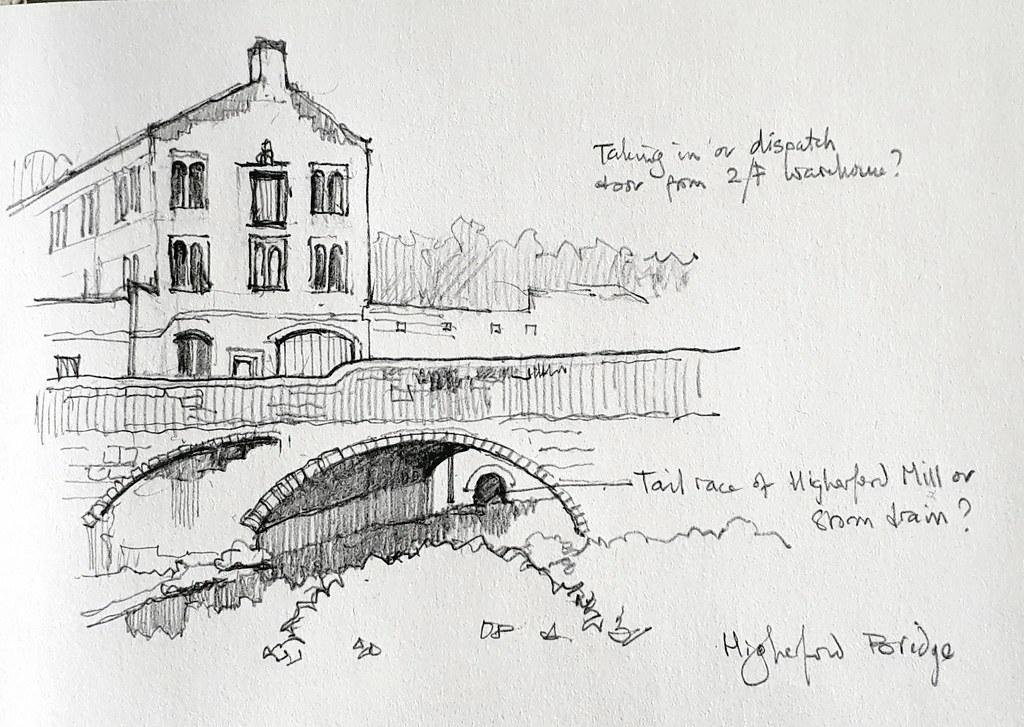 Higherford Mill and Higherford Bridge, Barrowford