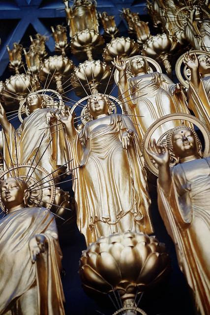 Golden deities