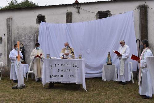 Misa de inicio de ministerio del nuevo administrador parroquial