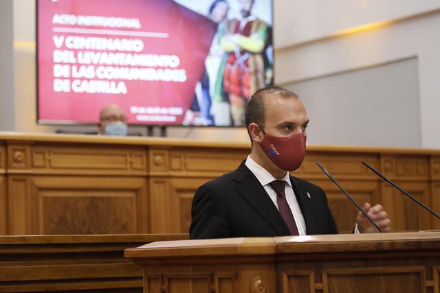 Acto institucional V centenario del levantamiento de las comunidades de Castilla