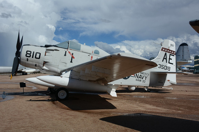135018 Douglas EA1F Skyraider Pima  22-09-15
