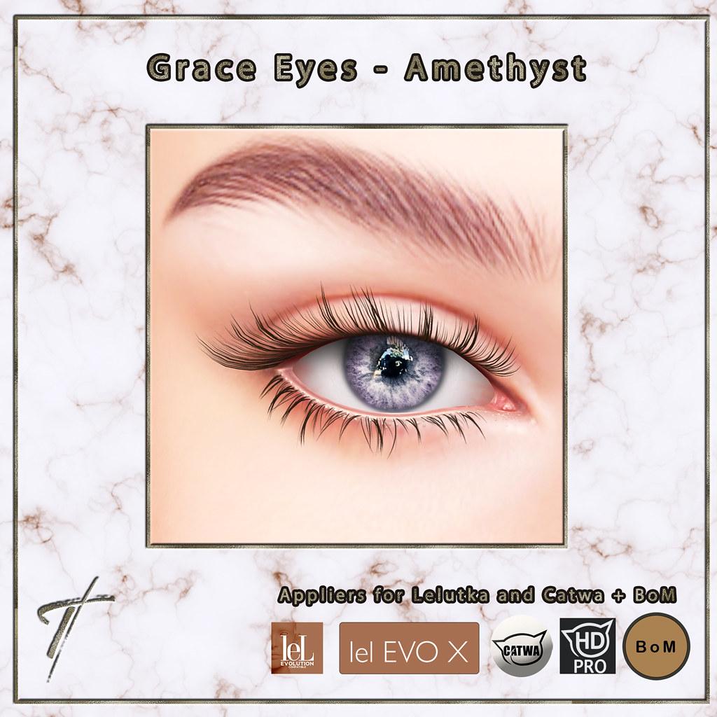 Tville –  Grace Eyes *amethyst*
