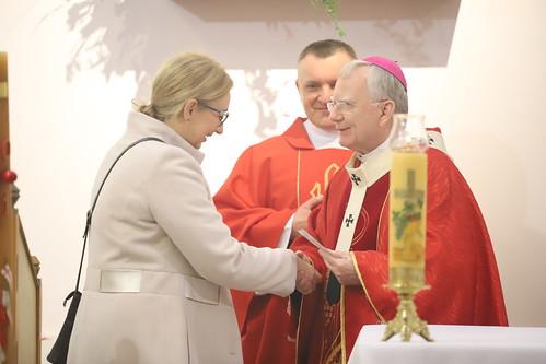 Bierzmowanie w parafii św. Jana Pawła II w Krakowie