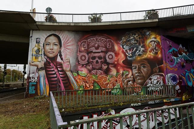 Streetart in Mainz-Kastel