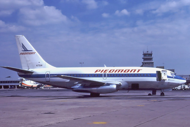 N751N PIEDMONT 737-222 at KCLE