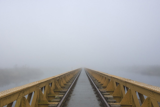 Morning fog on Moerputten 1