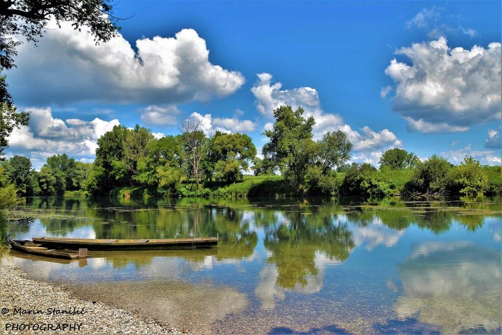 Beautiful crystal clear river Kupa - Croatia