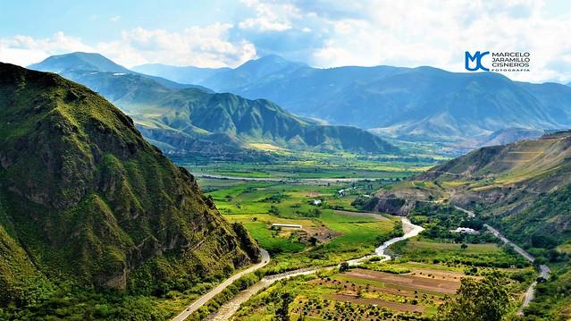 Vista del valle de Apaquí