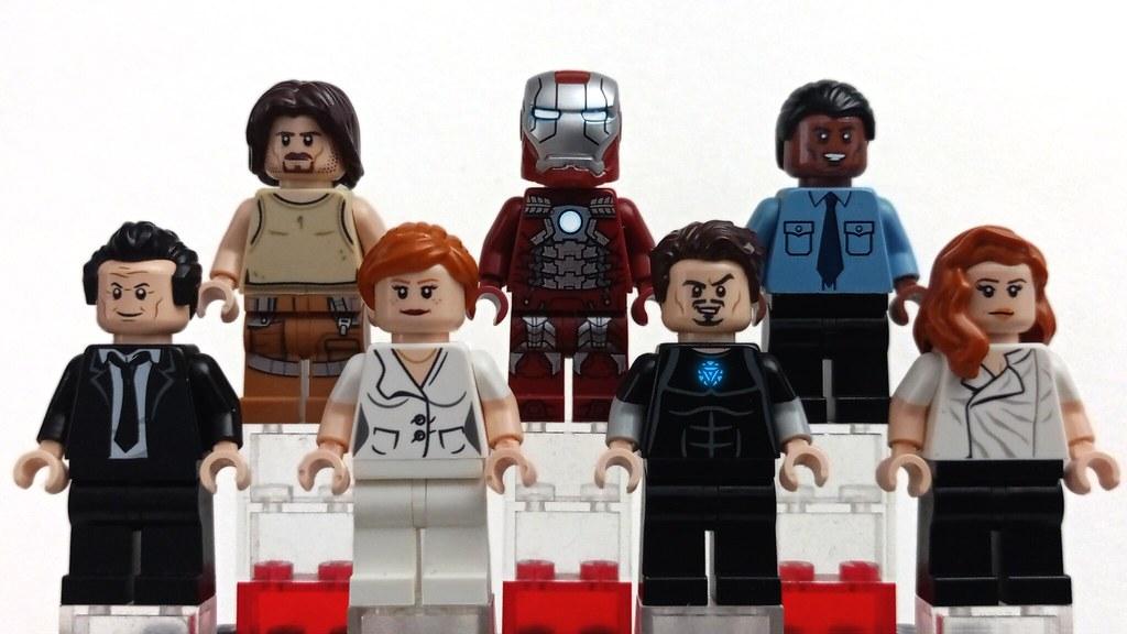 LEGO Minifigs   Iron Man 2 Customs Showcase