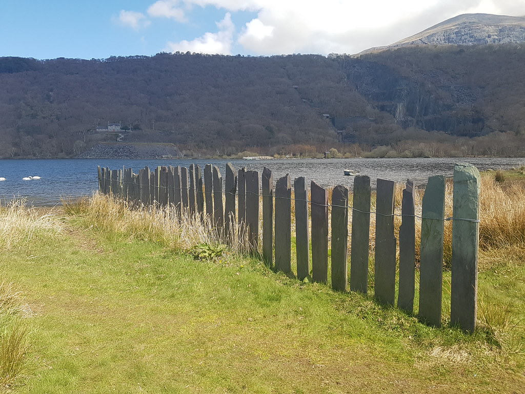 FENCE of Welsh Slate