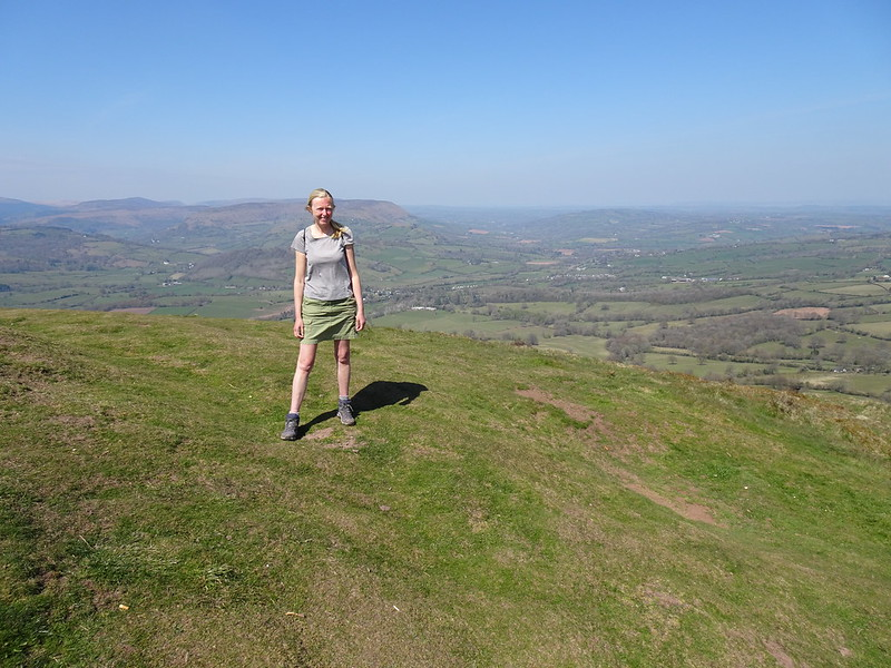 Me at the top of Skirrid