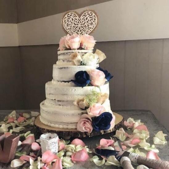 Cake by Sweet Flower Bakery