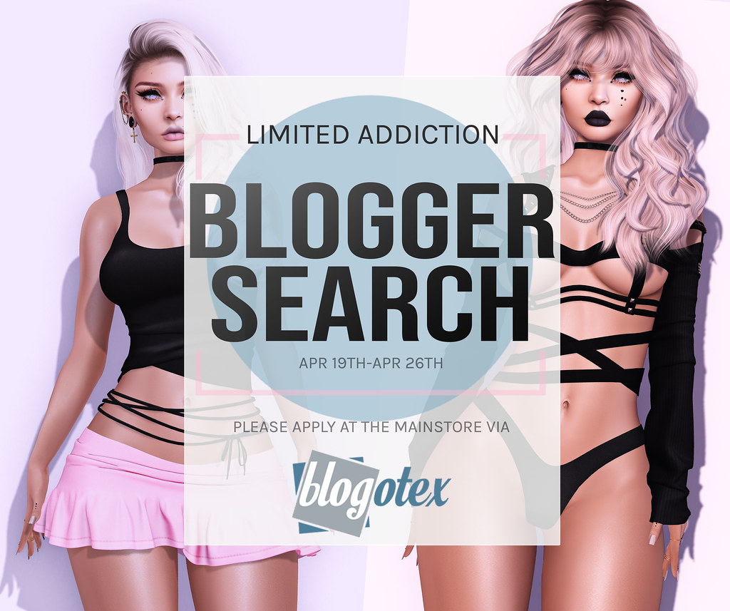 Limited Addiction Blogger Call April