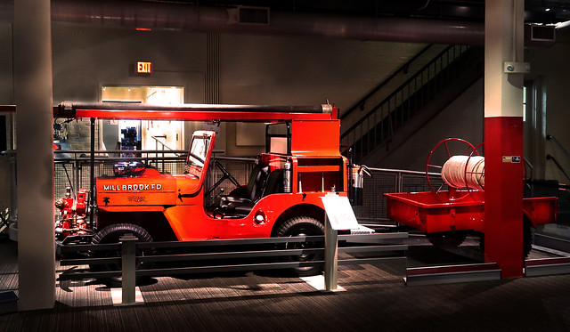 Willys Jeep Fire Engine -- 1956