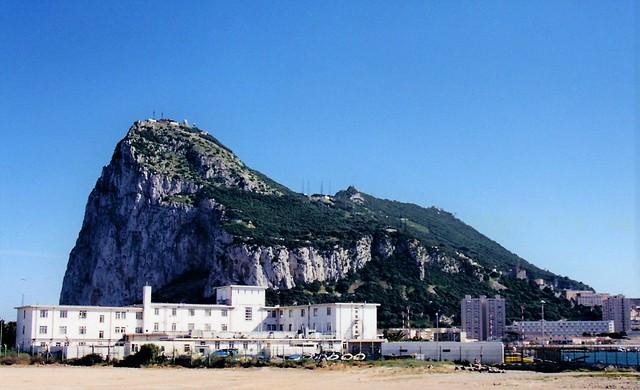 Gibraltar from La Linea, Spain