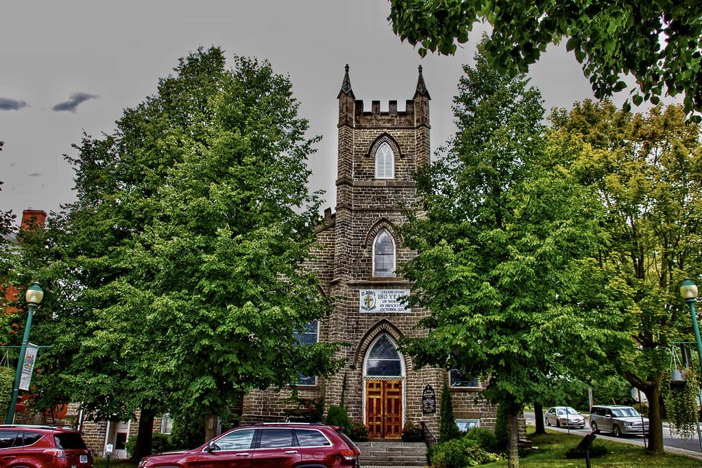 Brockville Ontario - Canada -  St John's United Church - Heritage  Church