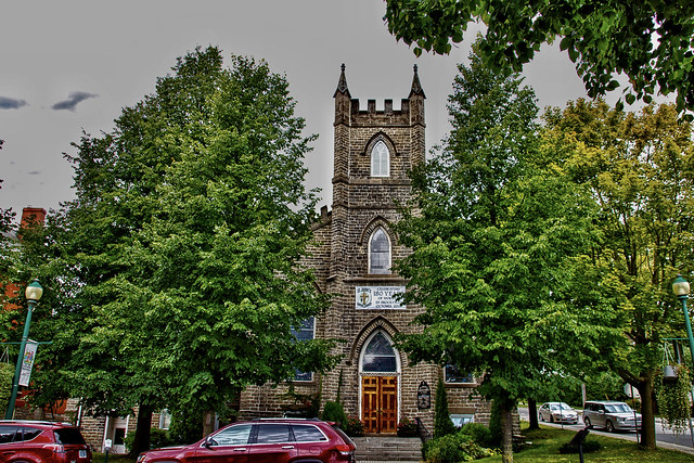 Brockville Ontario - Canada -  St John's United Church - Heritage  Church
