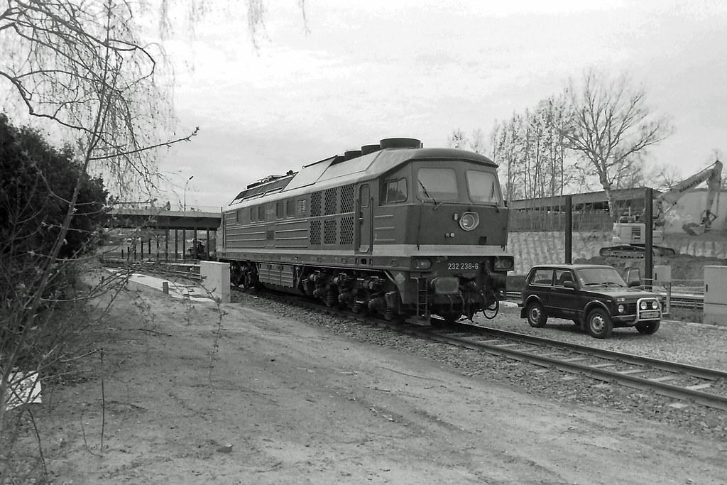 Berlin Lankwitz Lok 232238-6 16.4.2021
