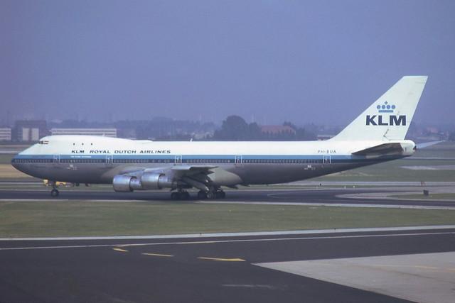 PH-BUA Schiphol 29-8-1974