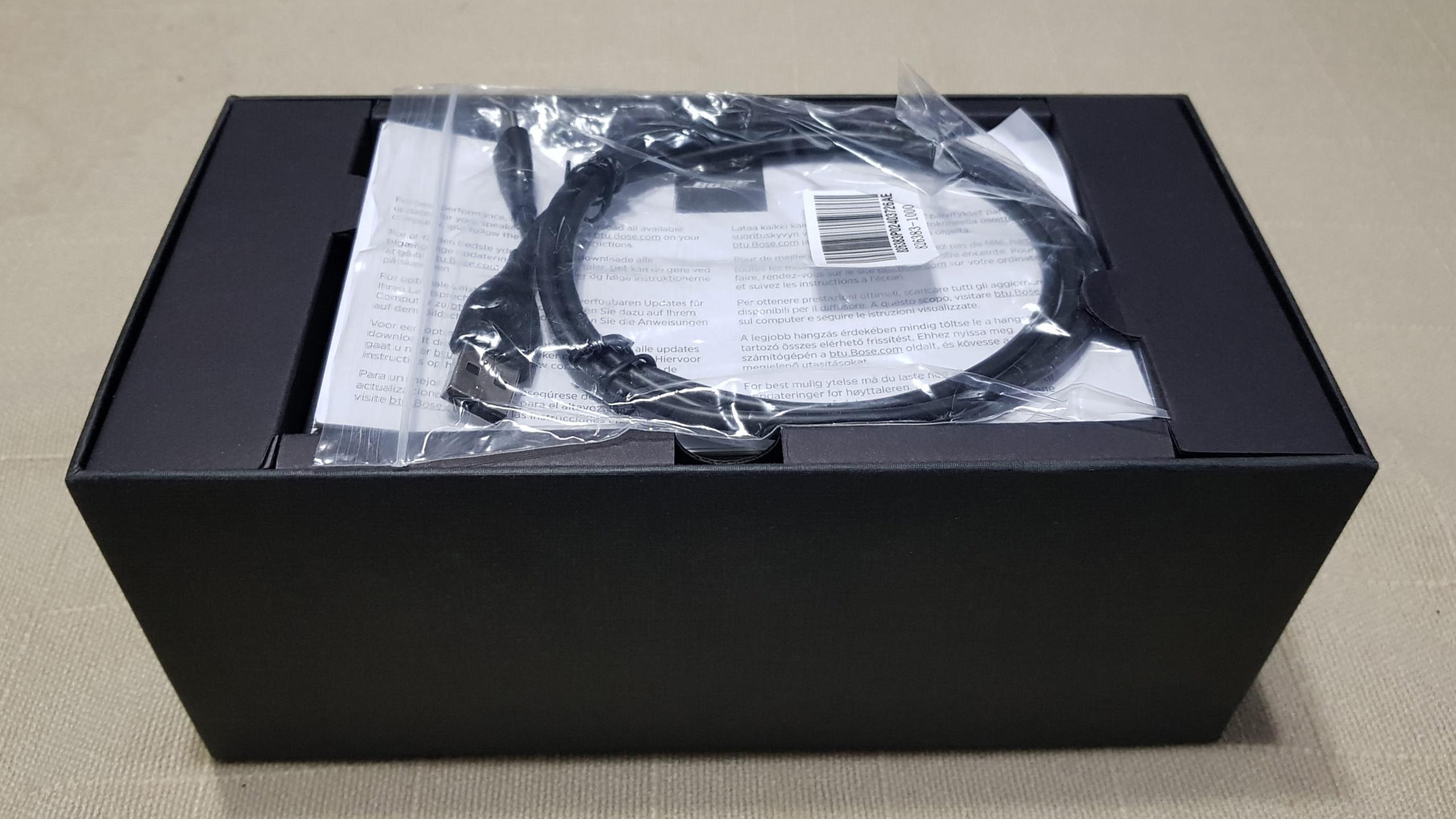 Bose SoundLink Mini II: Caja