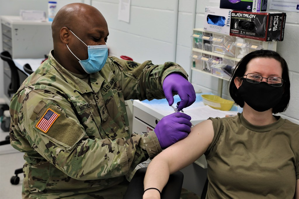 Task Force Guardian Vaccinations