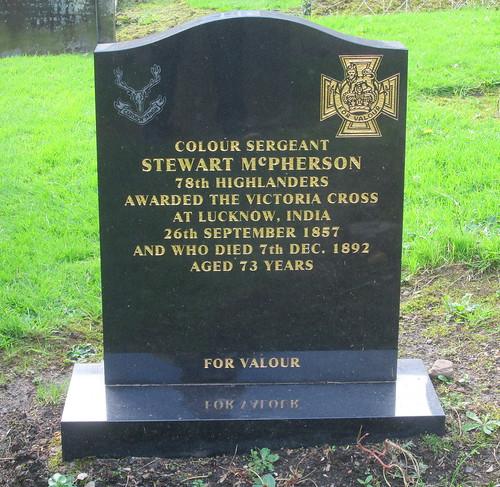 Grave of VC Awardee, Culross