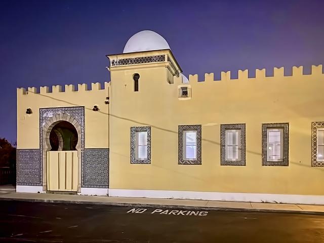 Opa-locka Seaboard Air Line Railway Station, 490 Ali Baba Avenue, Opa Locka, Florida, USA / Built: 1927 / Architect: Bernhardt E. Muller / Architectural Style: Moorish Revival architecture / Added to NRHP: June 25, 1987