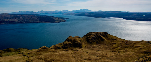 Mull's peaks on horizon - B.More and B.Talla