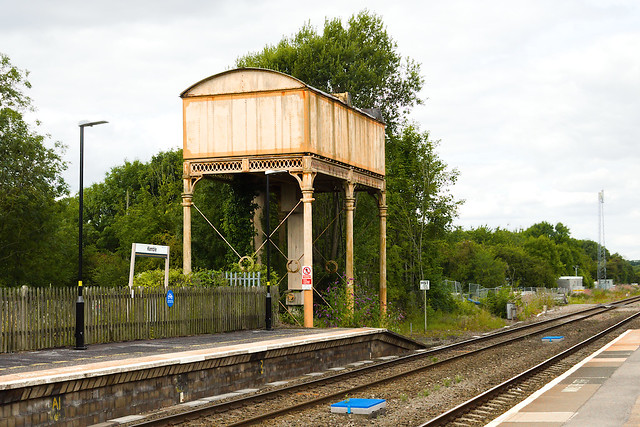 Kemble Station Water Tower