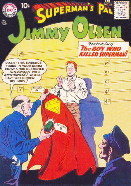 Superman's Pal, Jimmy Olsen #28