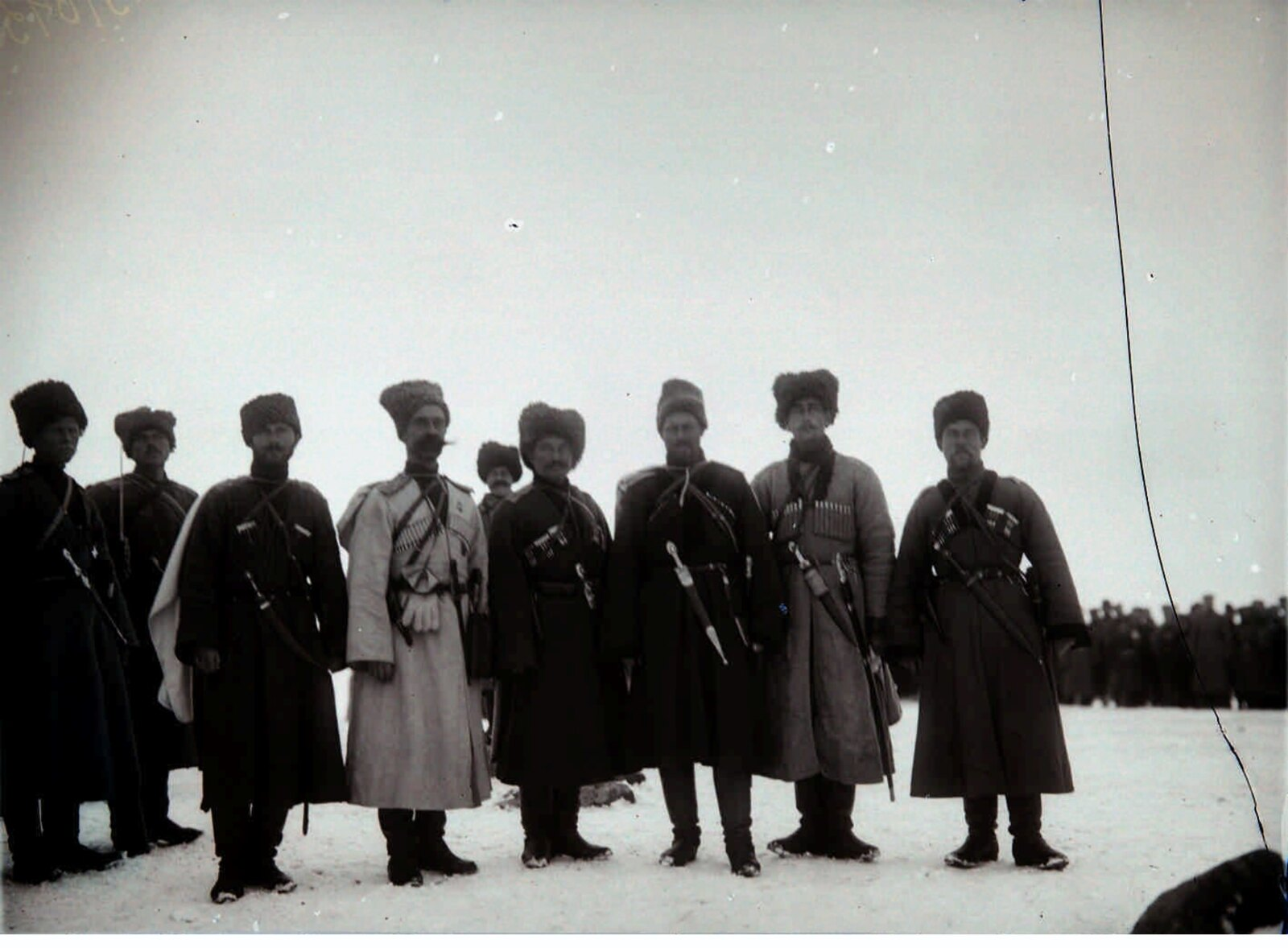 05. 1914. Группа офицеров - участников взятия крепости Сарыкамыш